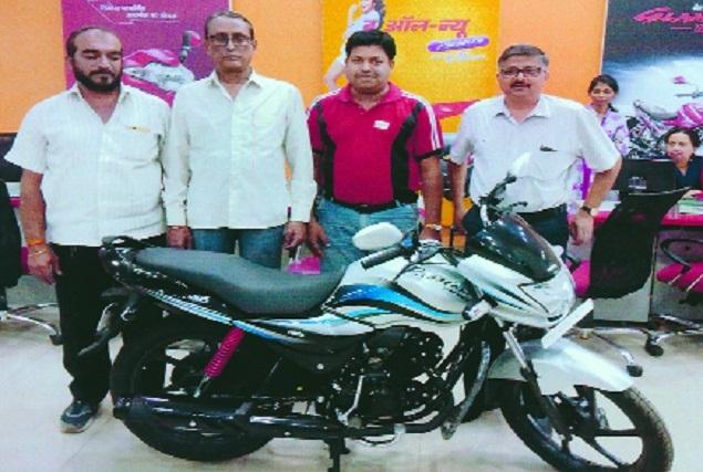 Aditya Hero delivers 15 new Passion Pro and Xpro bikes