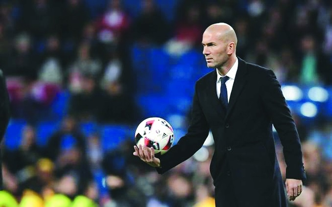 Pressure back on Zidane