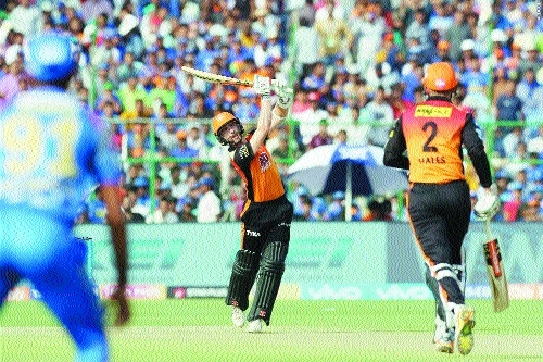 Sunrisers attack aces another tight defenceBeat Royals by 11 runs to claim top spot