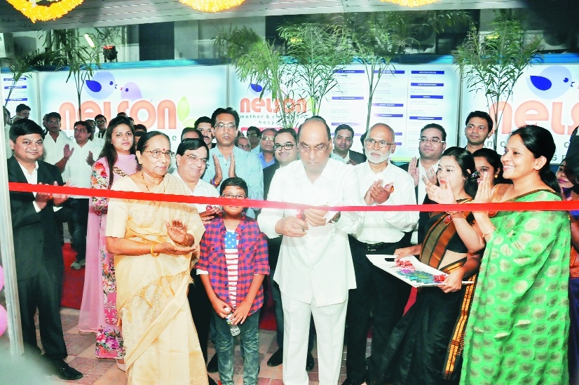 Nelson Mother and Child Care Hospital opens in Dhantoli