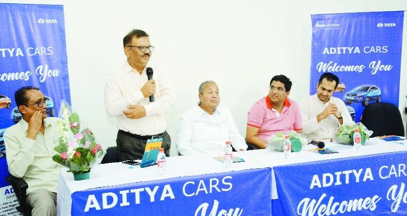 Tata Motors' new dealership Aditya Cars inaugurated