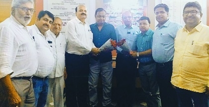 NVCC office-bearers felicitated