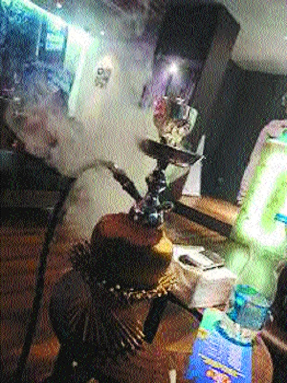 Shocking: 14-yr-old girl found smoking hookah