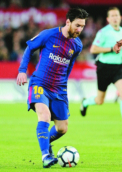 Messi to return as Barca host Roma in CL last eight