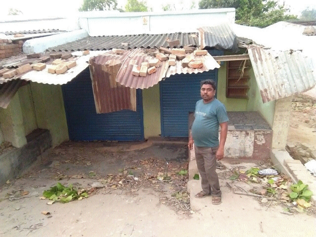 Sudden turn of weather causes losses to property in Dola