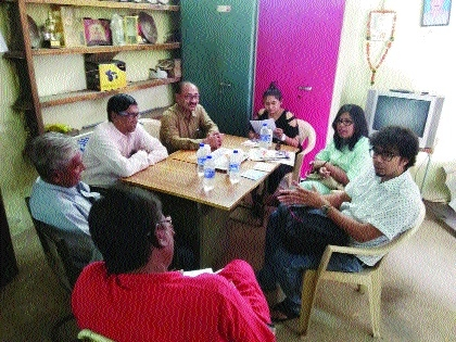 Artists from Bangla Drama, Dot.Com visit BSP