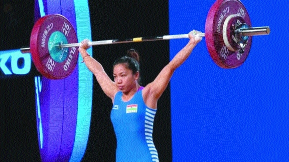 Mirabai Chanu carries Indian hopes on Day 1