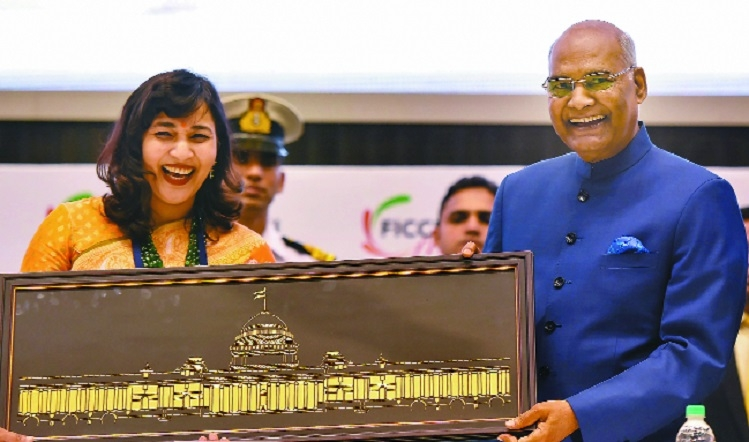 Women aren't given their due in business: Kovind