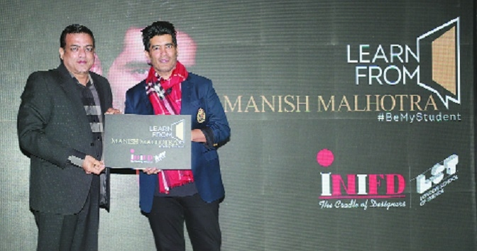 Manish Malhotra joins hands with INIFD & LST to mentor students online