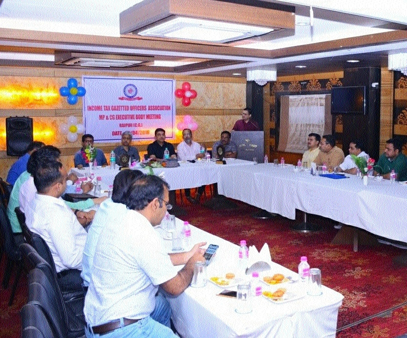 ITGOA (MP-CG) meeting held in Raipur
