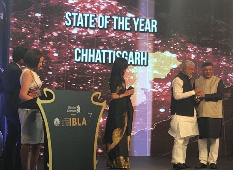 C'garh becomes India's 'Business Leader' State
