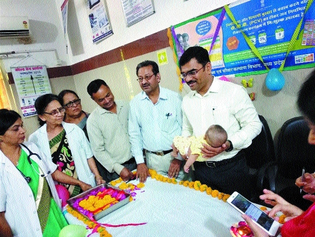 Collector launches PCV at JP Hospital