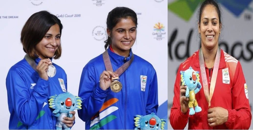 Women provide triple delight at CWG