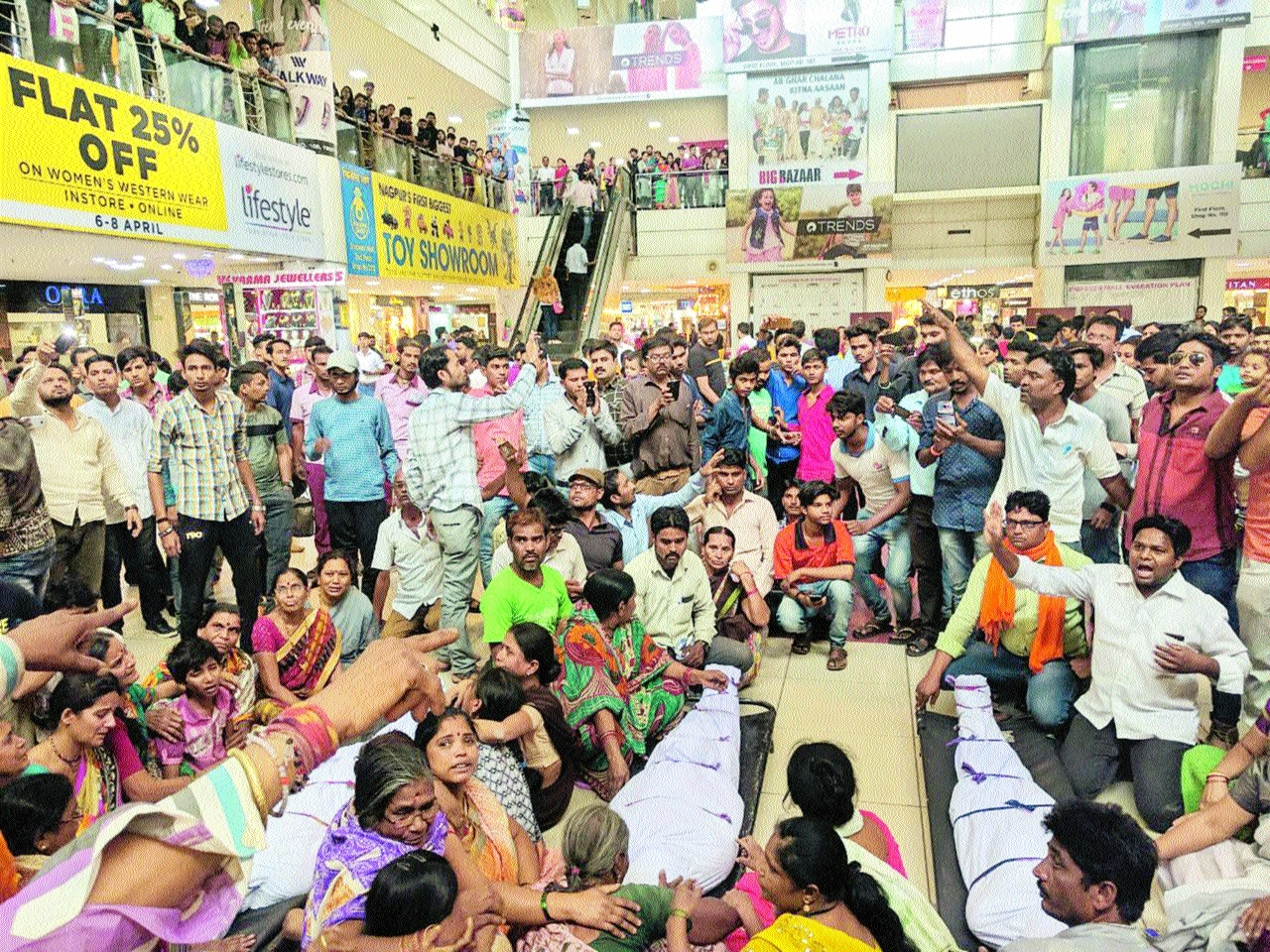 Labourers' death: Kin create scene