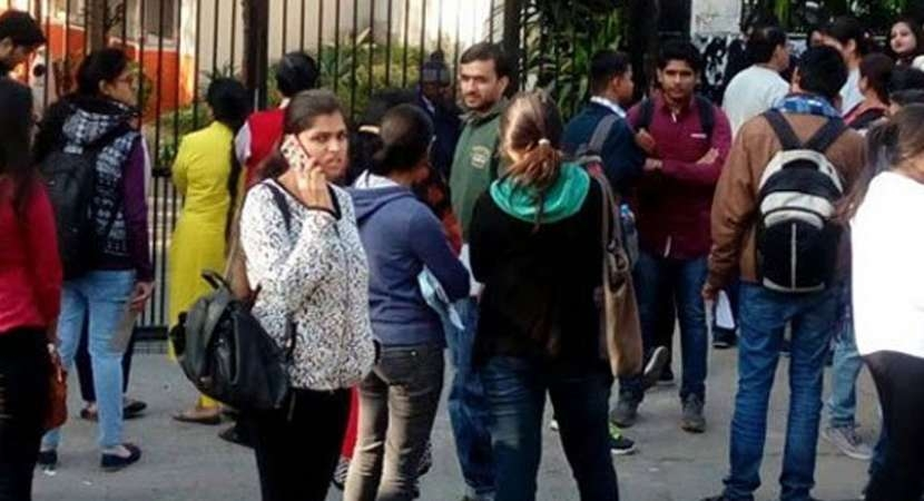 Over 5,000 appear for offline examination of JEE Main