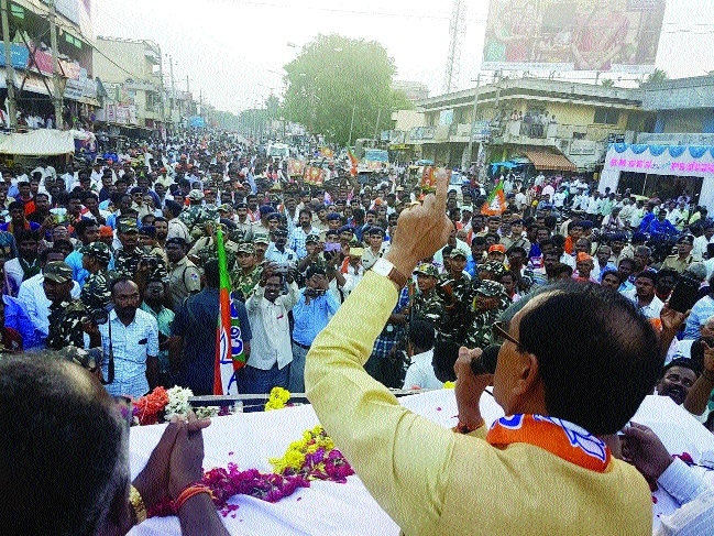 CM campaigns for BJP candidates in Karnataka