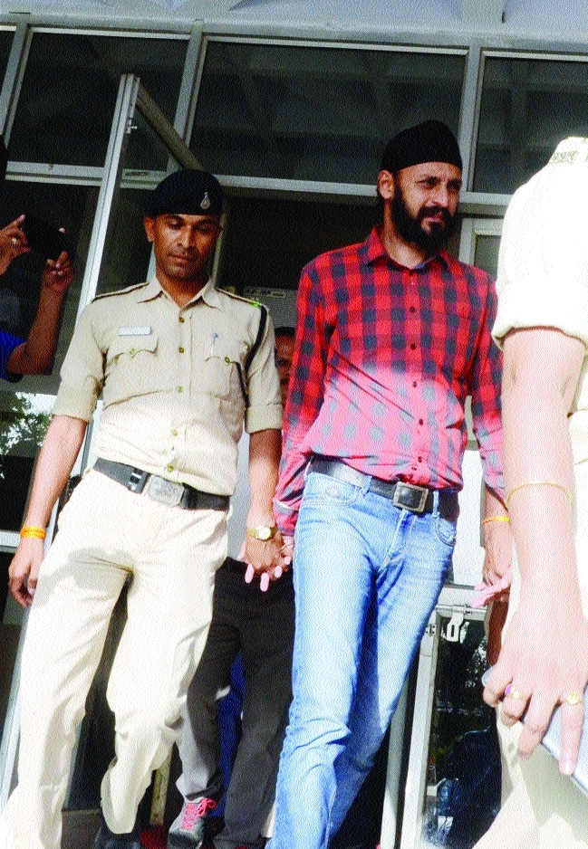 Vikramjeet Singh surrenders in court, sent to police remand