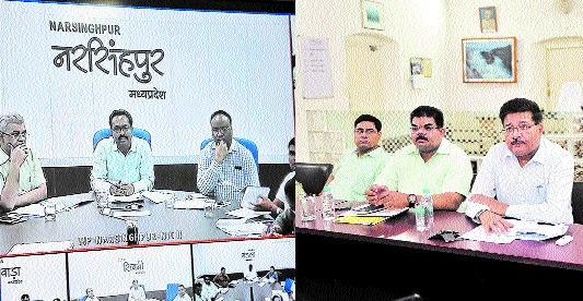 Divisional Commr Awasthi holds video conference