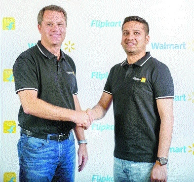 Walmart buys 77% stake in Flipkart for Rs 1.05 lakh cr