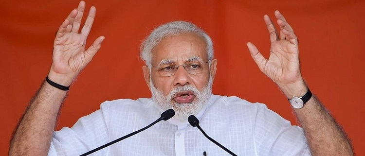 No place for backward classes in the 'heart' of Cong, says PM