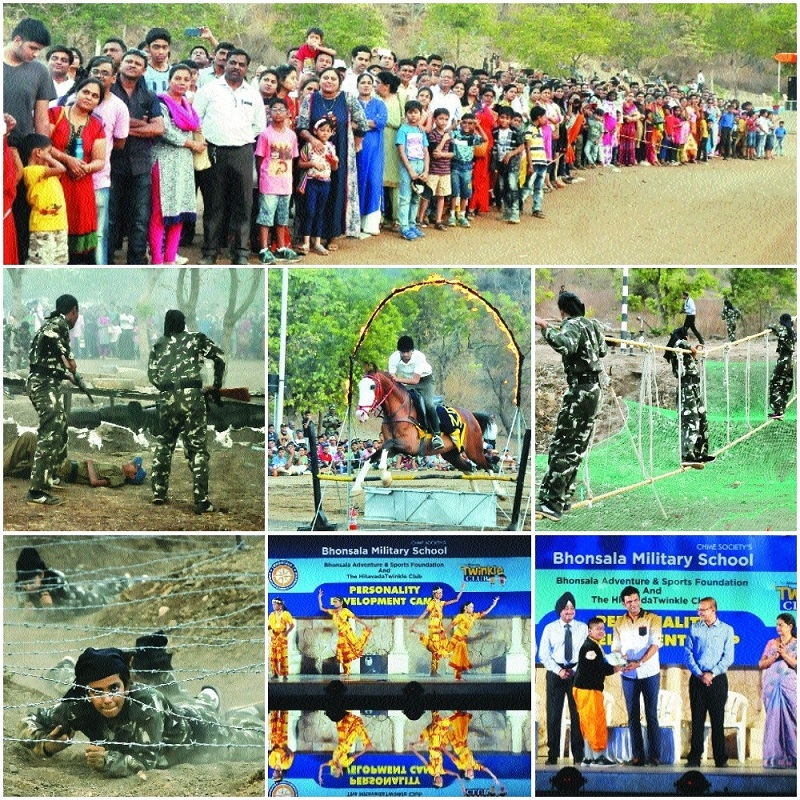 Bhonsala Adventure and Sports Foundation Personality Development camp II concludes