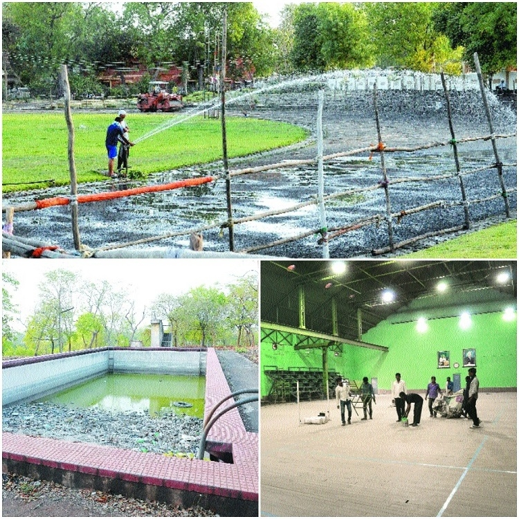 RTMNU 'playing' with sports facilities