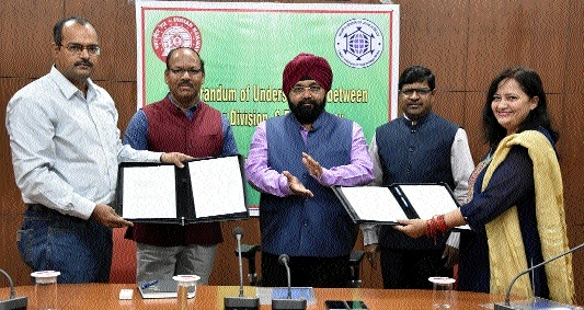 MoU signed between SECR Raipur Division, IIT Bhilai