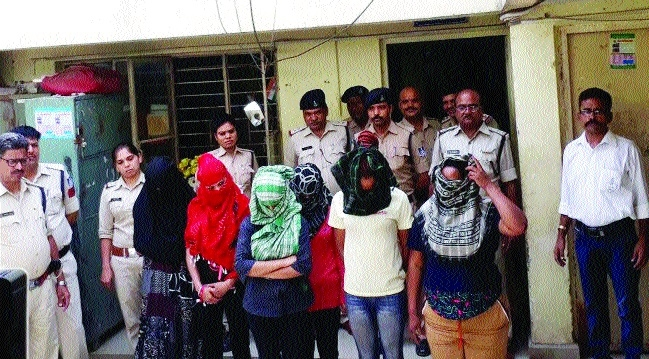 Flesh trade busted in Bhopal, 2 Ugandan women among 11 arrested