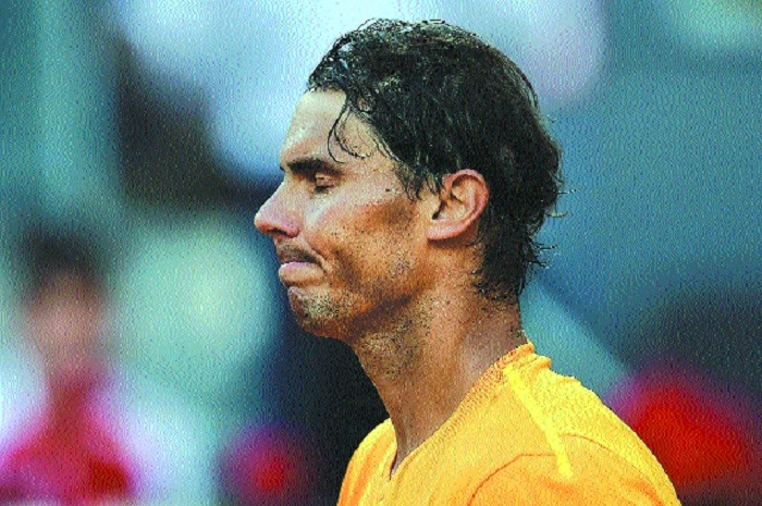 Nadal's magical clay court streak ends