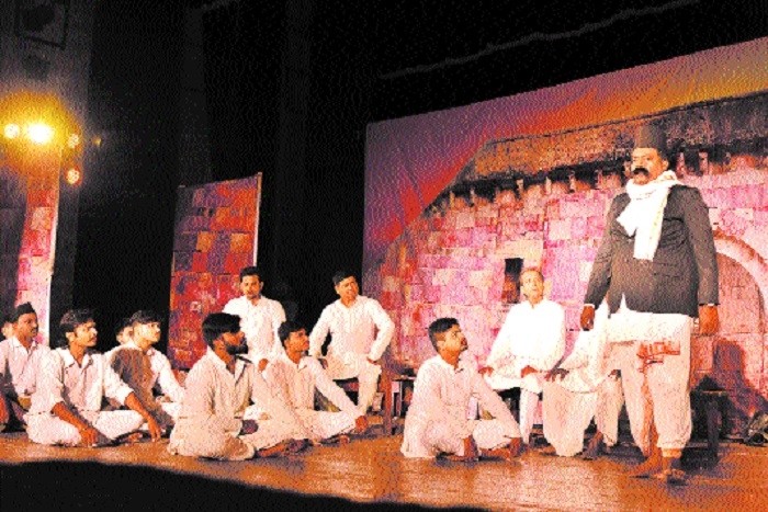 Play 'Hum Kare Rashtra Aradhan' staged