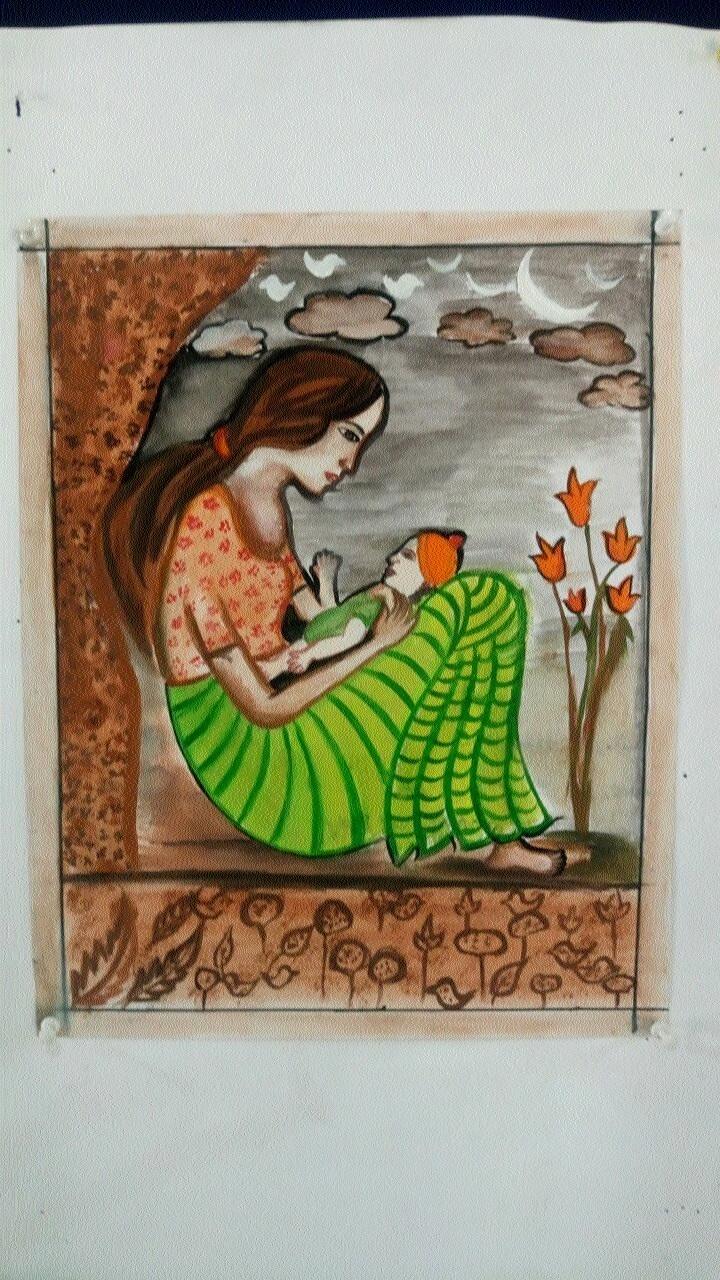 Good response to drawing competition organised by Mahakoshal Kala Parishad