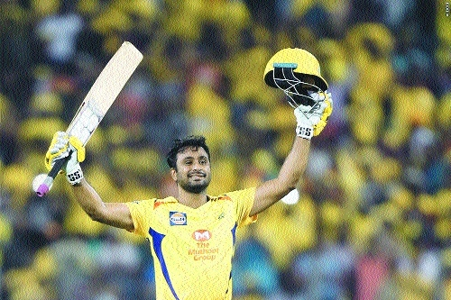 Maiden Rayudu ton shreds Hyderabad