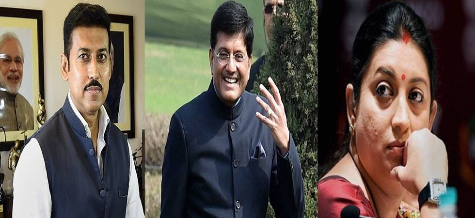 Cabinet rejig: Irani loses I&B Ministry, Goyal gets addl charge of Finance