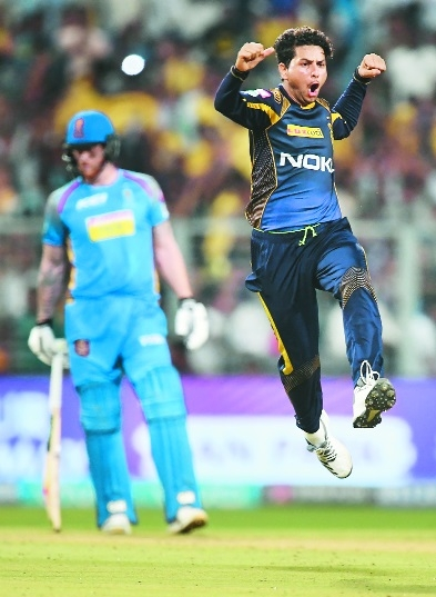 Kuldeep lights the way