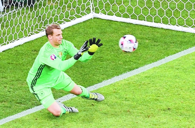 Neuer in Germany squad