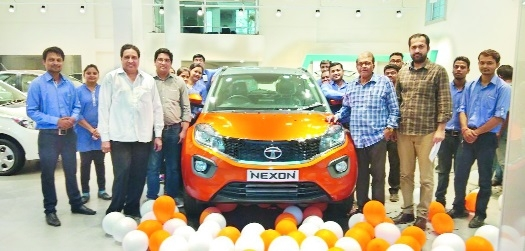 Tata Nexon AMT launched at Aditya Cars showroom