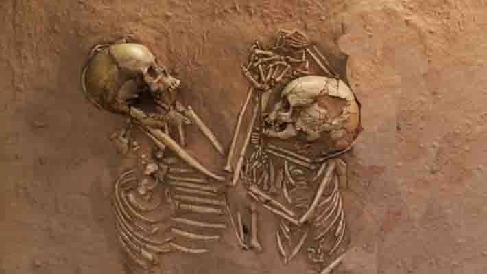 10th century human skeletons found at excavation site in Juna Khera