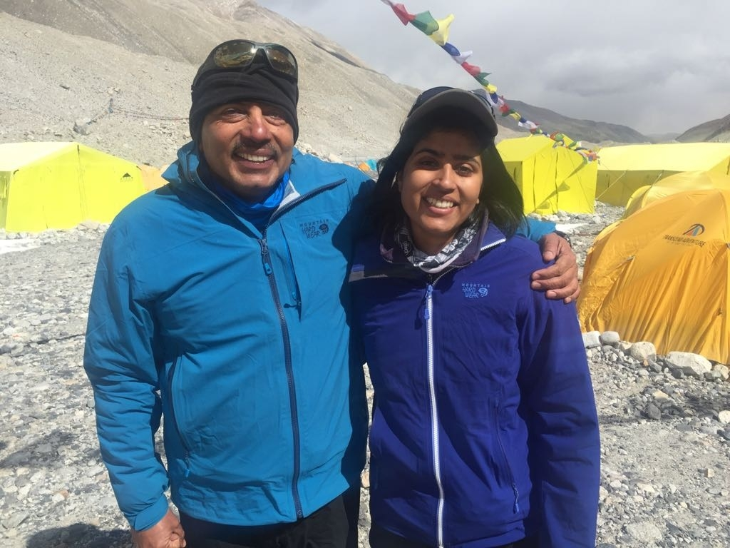 Bajajs scale Mt Everest, first Indian father-daughter to do so