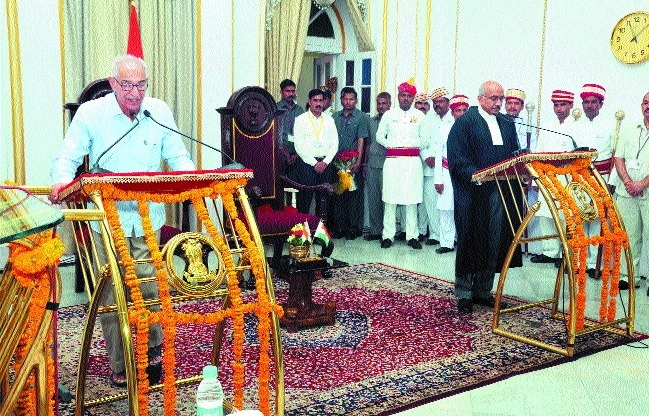 O P Kohli takes oath as MP Governor
