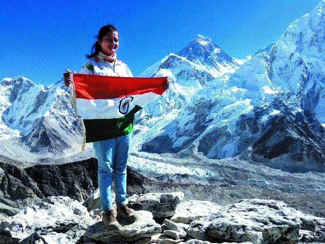 Megha Parmar becomes State's first girl to climb Mount Everest
