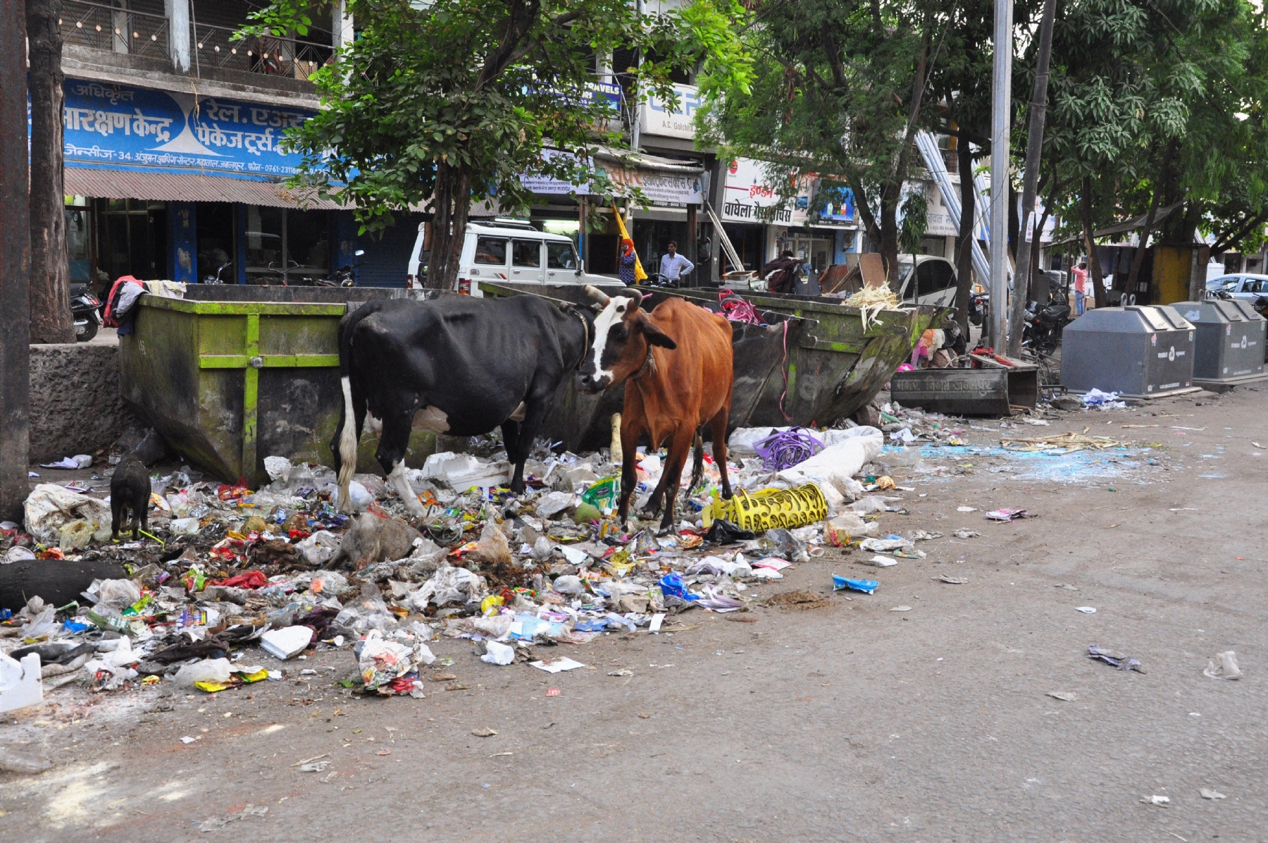 Uncleanliness causing inconvenience to citizens