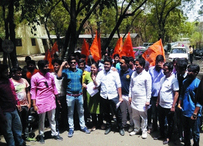 ABVP submits memorandum to BU VC for demands