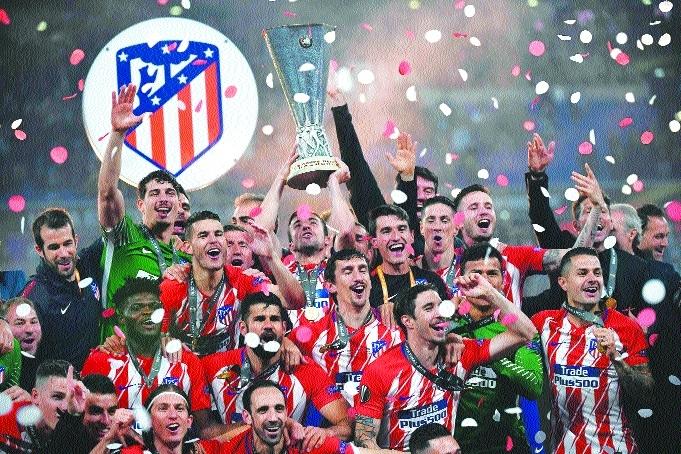 Atletico seal Europa title