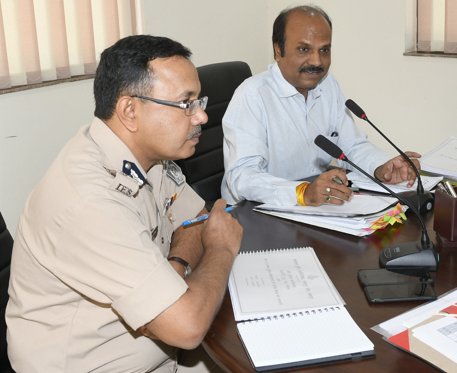 ADGP of CID Kailash Makvana advocates honouring police officers