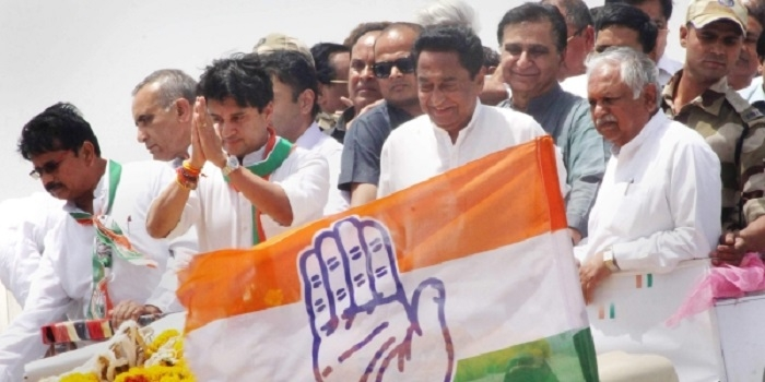 Kamal Nath assumes charge as MP Cong President