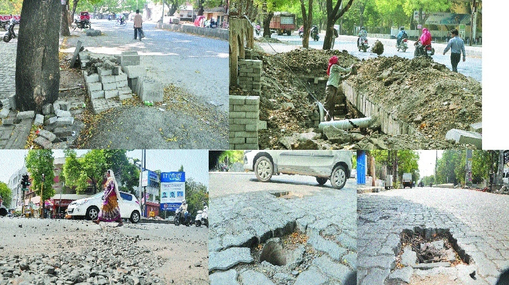 Work of cement roads make citizens more prone to serious accidents