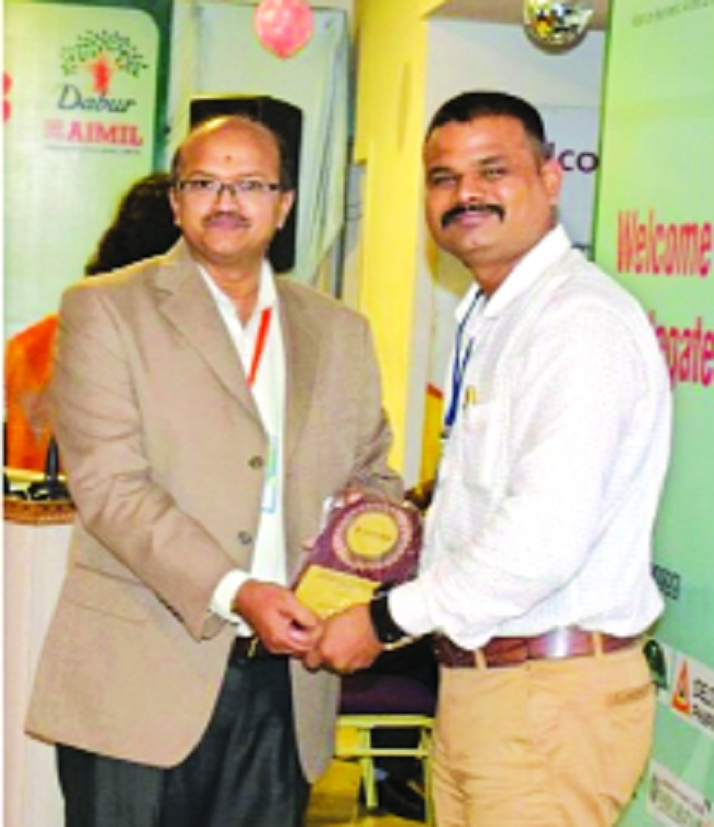 Dr Praveen Sahave feted