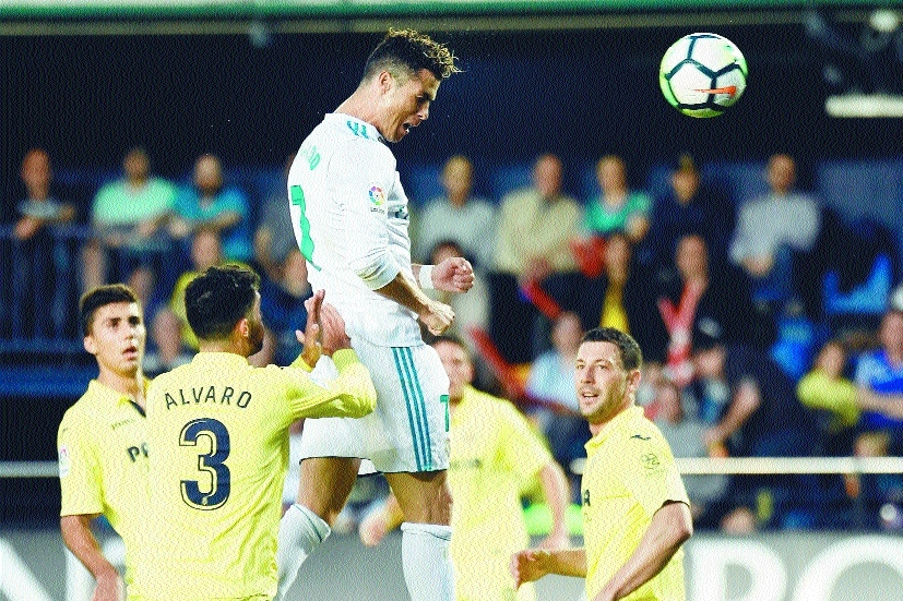 Ronaldo, Bale score in Real Madrid draw