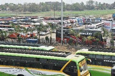 No respite to passengers as bus operators' strike continues