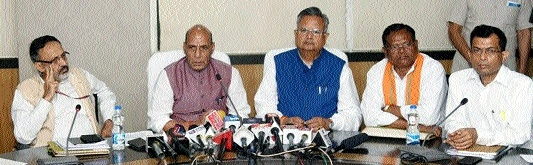 Strong measures to choke Naxal funds soon: Rajnath